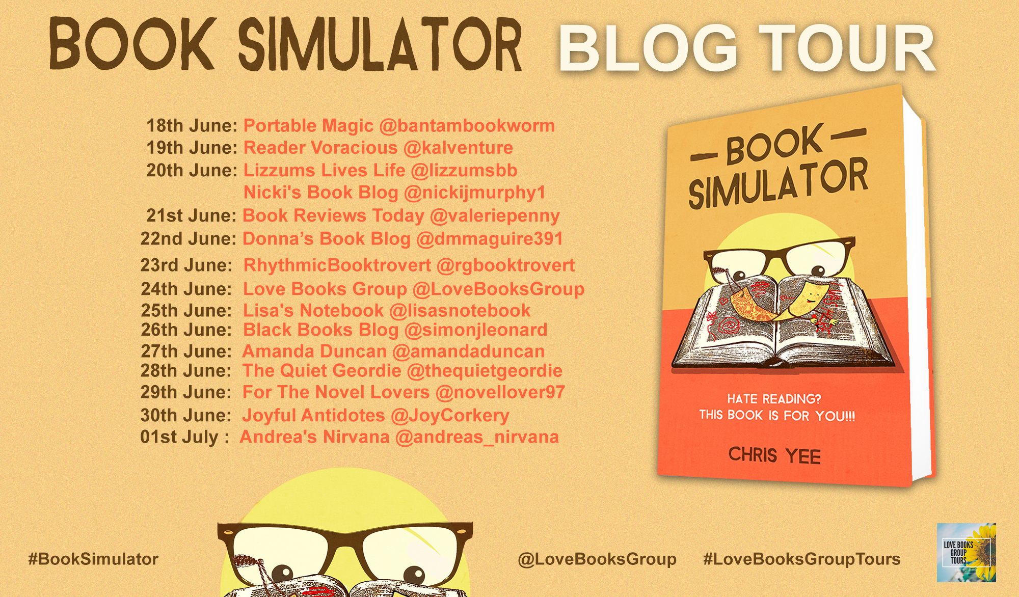 book simulator