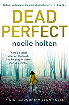 Dead Perfect by Noelle Holten Paperback cover